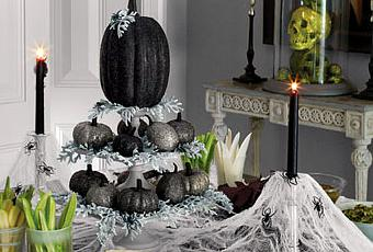 A classy halloween decorating ideas paperblog for B m halloween decorations