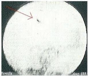 Was The First Photographed UFO A Comet?