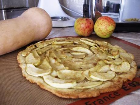 Spooky Le Salon Rustic Apple Tart