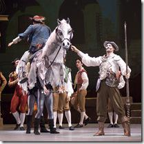 Photo by Bob Nick - Fabrice Calmels as Don Quixote