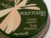 Swatches:Lip gloss:SleekMakeup:Sleek Makeup Natural Collection Bare Minimum Pout Polish Swatches