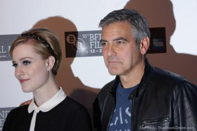 Evan Rachel Wood attends BFI London Film Festival