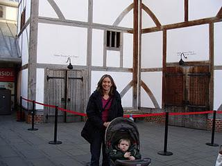 London - Shakespeare Globe Theatre, Rose Theatre, St. Paul's Cathedral, and Harrods