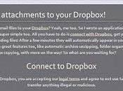 Email Files Dropbox