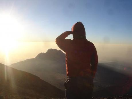 Me at Stella Point, Mt Kilimanjaro
