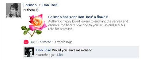 If Carmen and her friends were on Facebook...