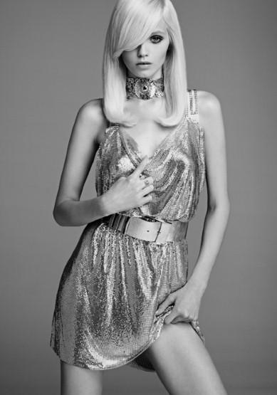 This H&M Chain-mail dress by Versace is perfect for the festive season!