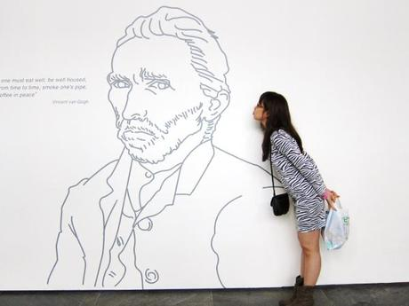 A Date with Mom in SG – Dali's Mind of a Genius Exhibit ('til Nov.13) & Van Gogh Audiovisuals