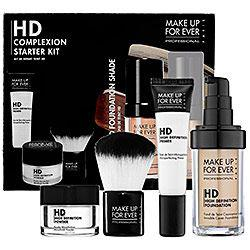 Makeup Collections: Makeup Forever:Makeup Forever HD Complexion Starter Kit