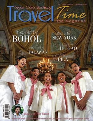 Bohol Notebook 3: How we got the cover shot