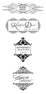 How to Design a Wedding Monogram