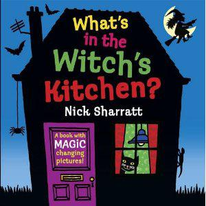 Book Sharing Monday:What's in the Witch's Kitchen?