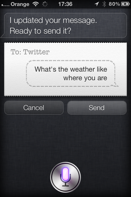 Hot To Use Siri To Update Facebook Or Twitter