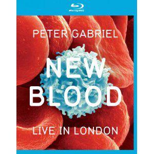 Peter Gabriel  ~New Blood Live In London multi-format DVD release
