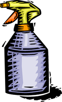 spray bottle Green Your Cleaning & Save Some Money Too