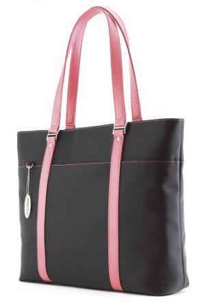 Pink Handbag, Laptop Bag, and Backpack
