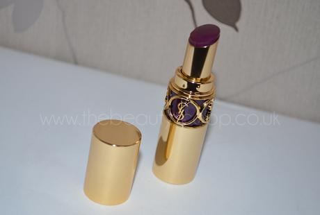 Yves Saint Laurent Rouge Volupte, Shade 112 - Spellbinding Violet!
