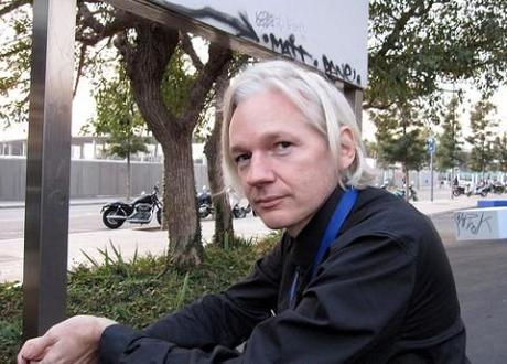 Julian Assange blames 'financial blockade' for suspension of WikiLeaks