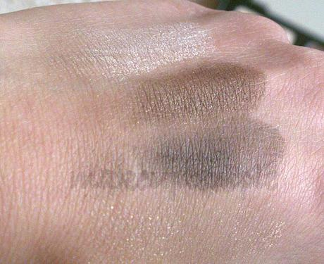 Swatches: The Body Shop: The Body Shop Brown Smoky Eyes Eye Shadow Palette Swatches