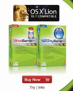 Macintosh Security Software Virus Barrier
