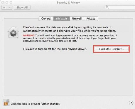 Macintosh Security Software FileVault