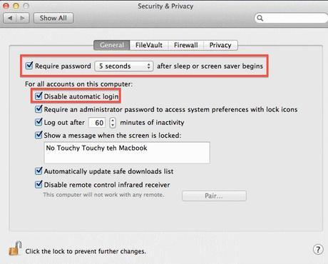 Macintosh Security Software Security And Privacy