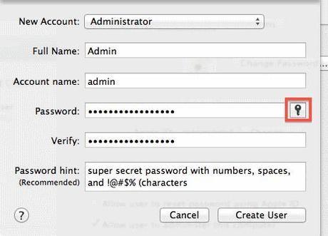 Macintosh Security Software Password
