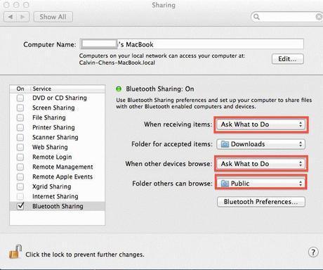 Macintosh Security Software Sharing