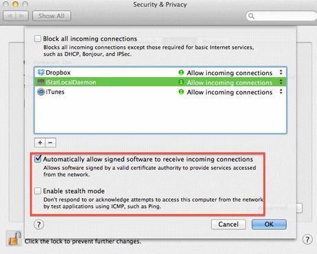 Macintosh Security Software Firewall 1