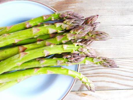 The First Harvest of Radishes with a Savory Tart – An Asparagus Salad and A Roll Cake with Dulce de Leche