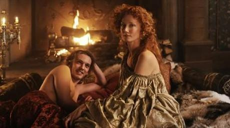 Elizabeth gets down and dirty with the Earl of Oxford in 'Anonymous', a film that puts Oxford as the author of Shakespeare's work. Photo Credit: Sony Pictures Entertainment