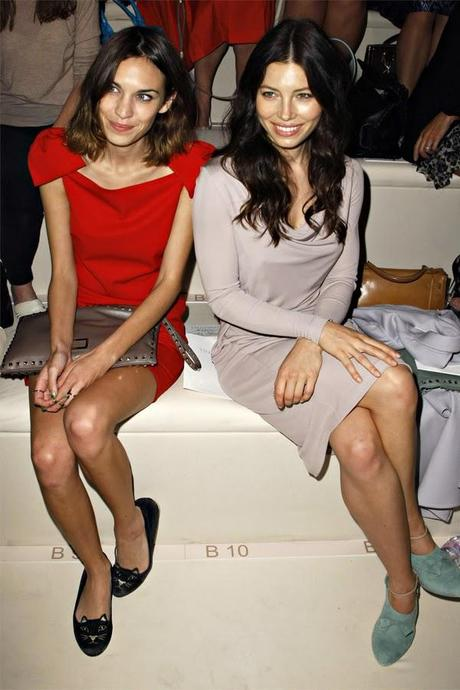 Alexa LRD for Valentino S/S 2012 - Paris Fashion Week