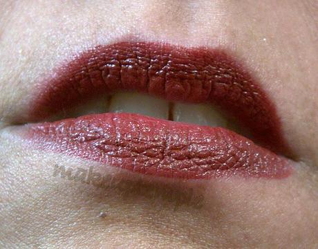 Swatches: Lipstick: Dainty Doll by Nicola Roberts:DAINTY DOLL By Nicola Roberts LIPSTICK 001 COUTURE Swatches