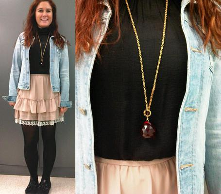red pendantWhat to Wear Now: A Large Pendant Necklace