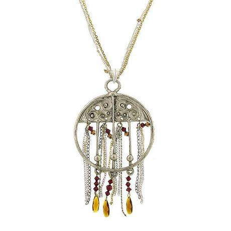52156What to Wear Now: A Large Pendant Necklace