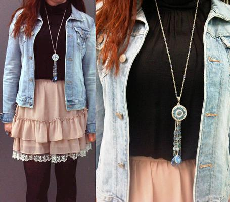 blue tassel pendantWhat to Wear Now: A Large Pendant Necklace