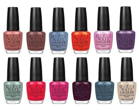 OPI Spring 2012 'Holland' Collection - Sneak Preview!