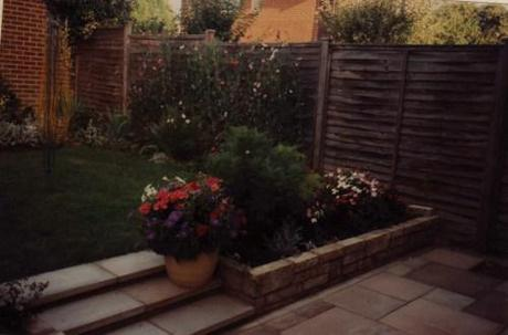 Mary Jones' first tenative attempts at gardening