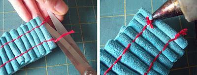 Scrap Leather Snap Cuff
