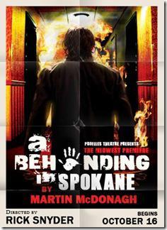 A Behanding in Spokane poster - Profiles Theatre