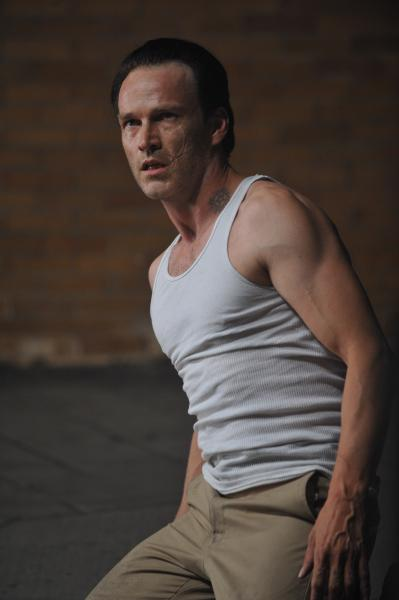 Interview with Stephen Moyer about his character in 'The Double'