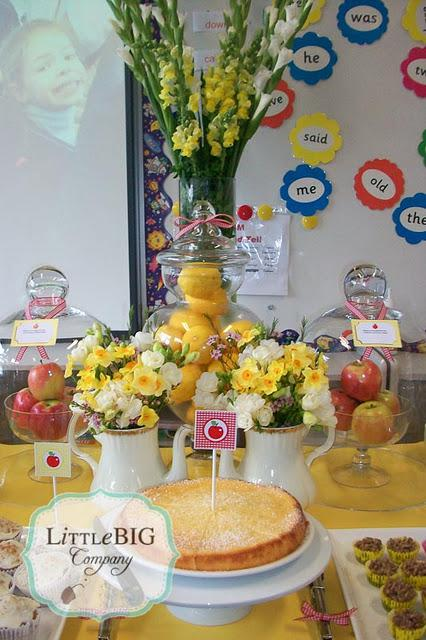 Grandparents Day at our children's school
