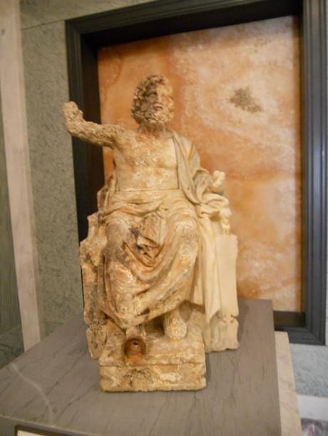 Statue of Zeus at Getty Villa