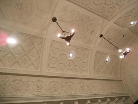 Getty Villa ceiling