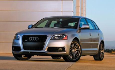 2011 Audi A3 Front Angle View