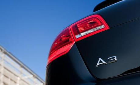 2011 Audi A3 Taillight and Badge