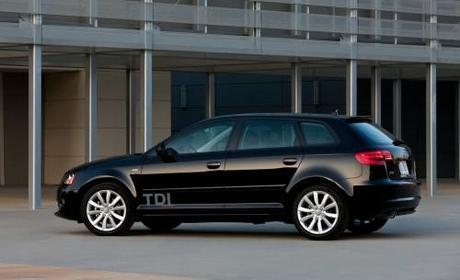 2011 Audi A3 Rear Side View