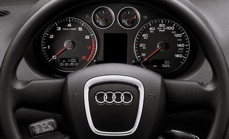 2011 Audi A3 Steering Wheel and Instrument Cluster