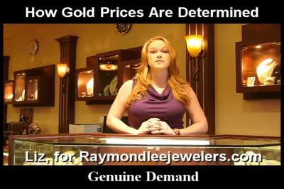 How Are Gold Prices Determined? Raymond Lee Jewelers Web Series