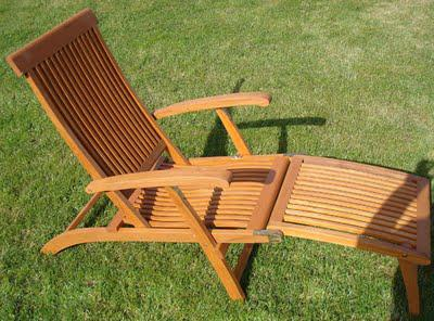 Ryan's Garden Competition: Hardwood Steamer Chair